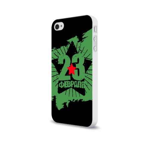 Чехол для Apple iPhone 4/4S soft-touch  Фото 03, 23 февраля