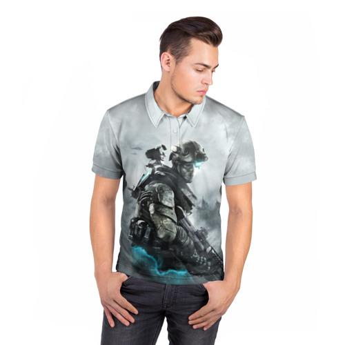Мужская рубашка поло 3D  Фото 05, Ghost Recon