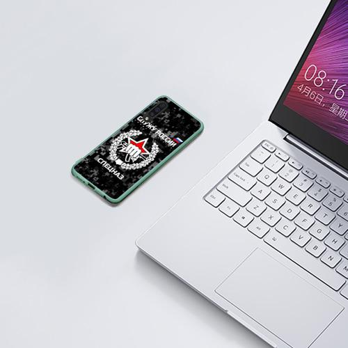 Чехол для Samsung A50 Служу России, спецназ Фото 01