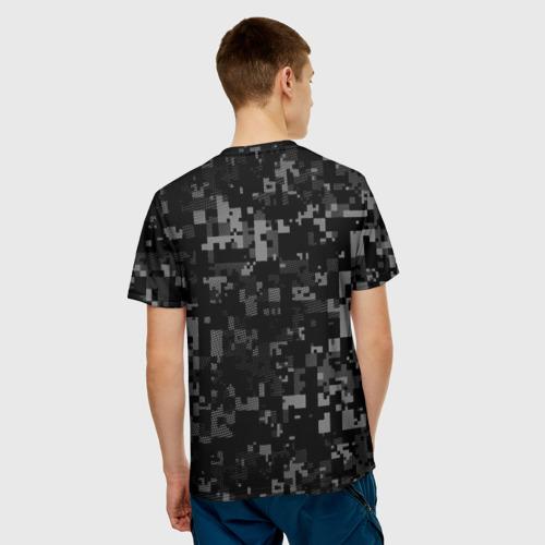 Мужская футболка 3D  Фото 02, Служу России, военная разведка