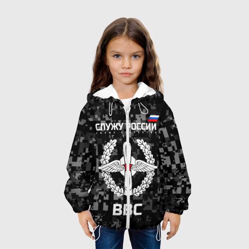 Детская куртка 3D  Фото 04, Служу России, ВВС