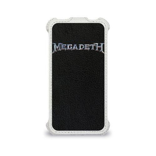 Чехол для Apple iPhone 4/4S flip  Фото 04, Megadeth #3