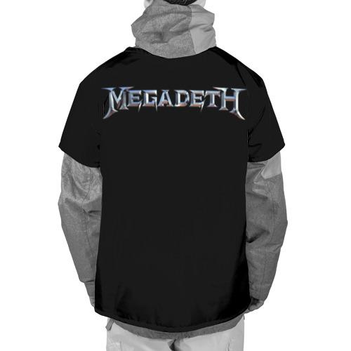 Накидка на куртку 3D  Фото 02, Megadeth #3