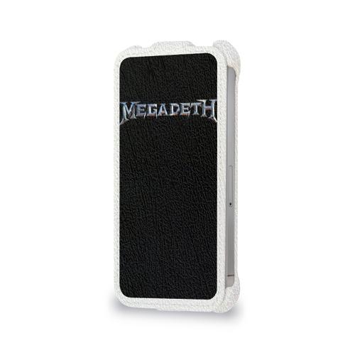 Чехол для Apple iPhone 4/4S flip  Фото 06, Megadeth #3