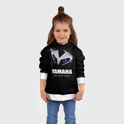 Детская толстовка 3D Yamaha Фото 01