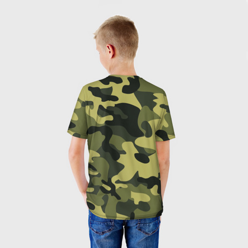 Детская футболка 3D  Фото 02, Russian army