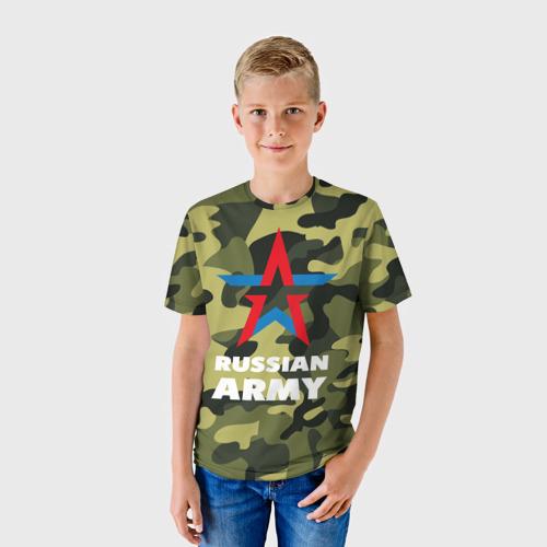 Детская футболка 3D Russian army