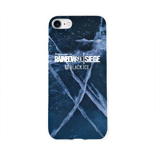 Чехол для Apple iPhone 8 силиконовый глянцевый  Фото 01, Rainbow Six Siege
