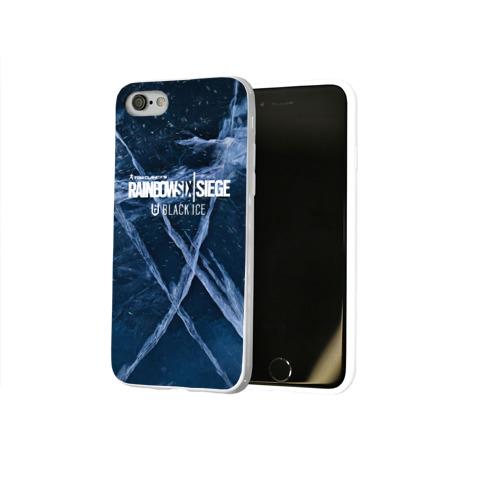 Чехол для Apple iPhone 8 силиконовый глянцевый  Фото 02, Rainbow Six Siege