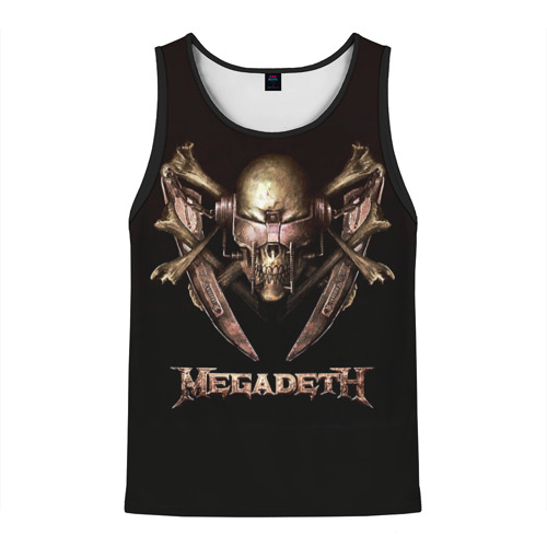 Мужская майка 3D Megadeth 3