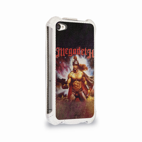 Чехол для Apple iPhone 4/4S flip  Фото 02, Megadeth 6