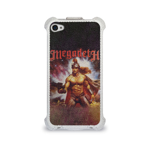 Чехол для Apple iPhone 4/4S flip  Фото 01, Megadeth 6