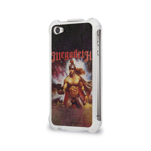 Чехол для Apple iPhone 4/4S flip  Фото 03, Megadeth 6