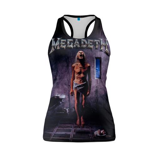 Женская майка 3D спортивная  Фото 01, Megadeth 7
