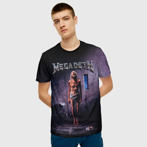 Мужская футболка 3D  Фото 06, Megadeth 7