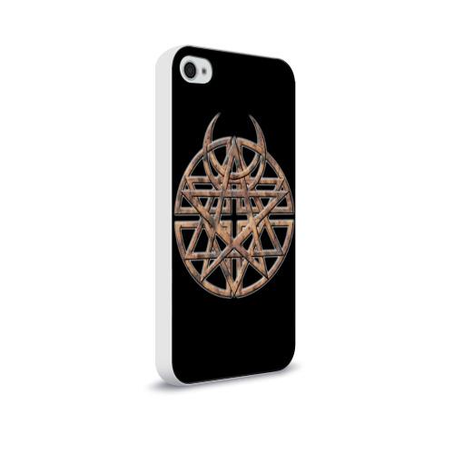 Чехол для Apple iPhone 4/4S soft-touch  Фото 02, Disturbed 1