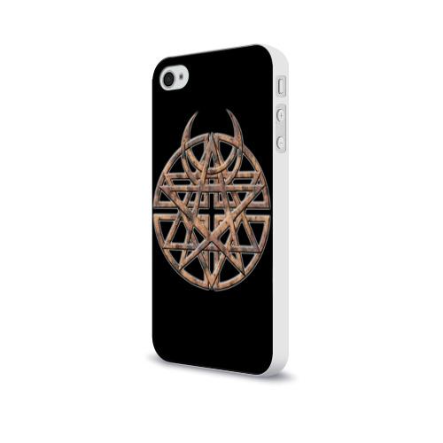 Чехол для Apple iPhone 4/4S soft-touch  Фото 03, Disturbed 1