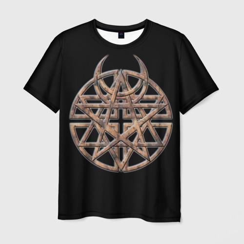 Мужская футболка 3D Disturbed 1