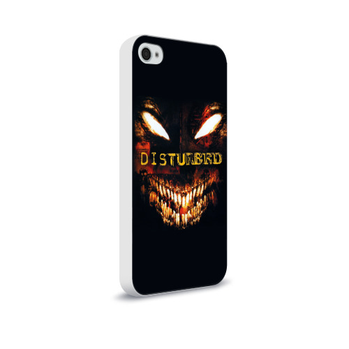 Чехол для Apple iPhone 4/4S soft-touch  Фото 02, Disturbed 4