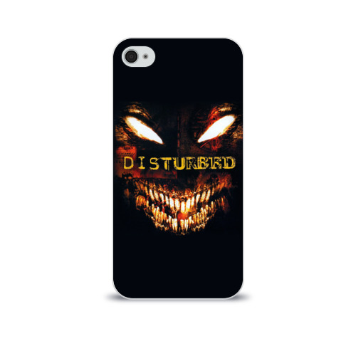 Чехол для Apple iPhone 4/4S soft-touch  Фото 01, Disturbed 4