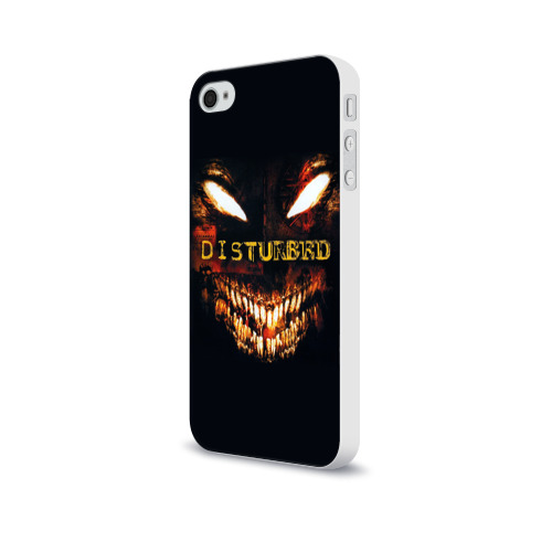 Чехол для Apple iPhone 4/4S soft-touch  Фото 03, Disturbed 4