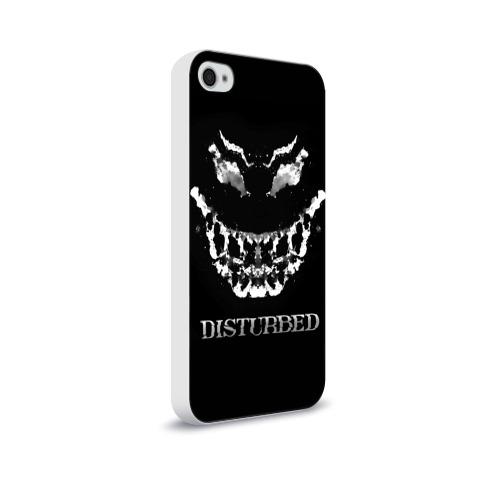 Чехол для Apple iPhone 4/4S soft-touch  Фото 02, Disturbed 5