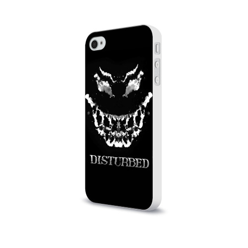 Чехол для Apple iPhone 4/4S soft-touch  Фото 03, Disturbed 5