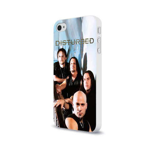 Чехол для Apple iPhone 4/4S soft-touch  Фото 03, Disturbed 6