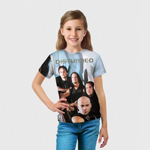 Детская футболка 3D  Фото 03, Disturbed 6