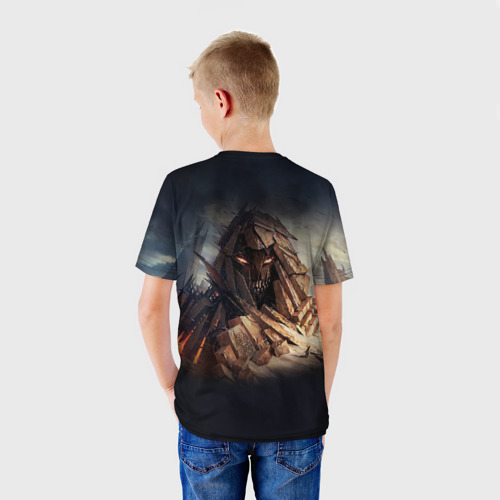 Детская футболка 3D  Фото 02, Disturbed 8