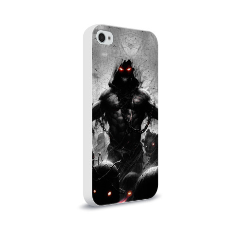 Чехол для Apple iPhone 4/4S soft-touch  Фото 02, Disturbed 9