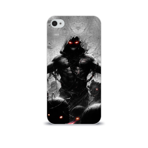 Чехол для Apple iPhone 4/4S soft-touch  Фото 01, Disturbed 9