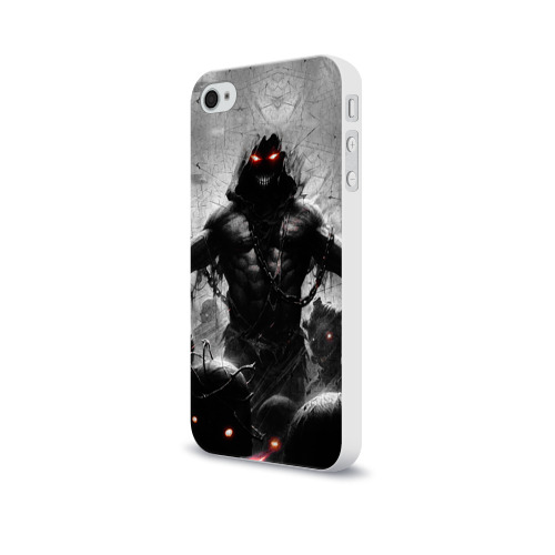 Чехол для Apple iPhone 4/4S soft-touch  Фото 03, Disturbed 9
