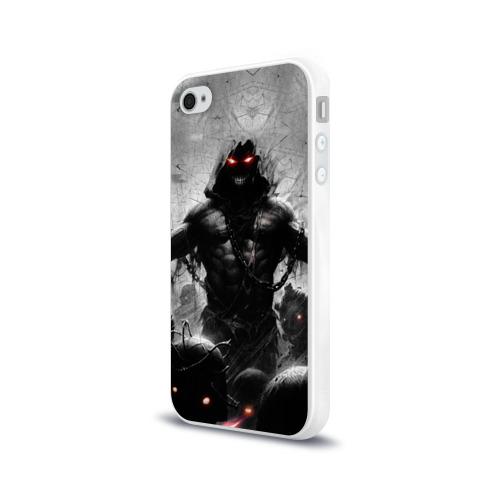 Чехол для Apple iPhone 4/4S силиконовый глянцевый  Фото 03, Disturbed 9