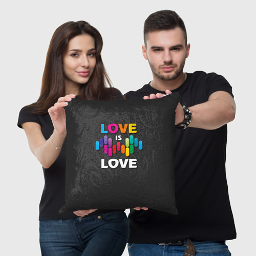 Подушка 3D  Фото 05, Love is love