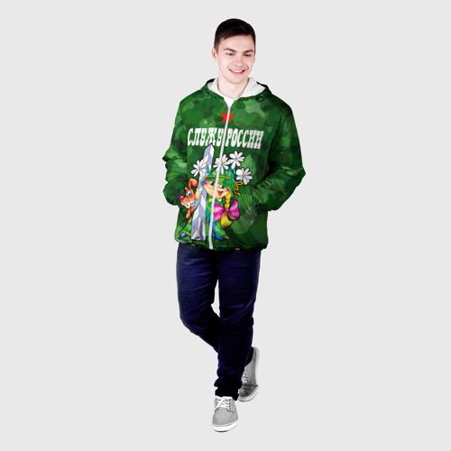 Мужская куртка 3D  Фото 03, Служу России, пограничники