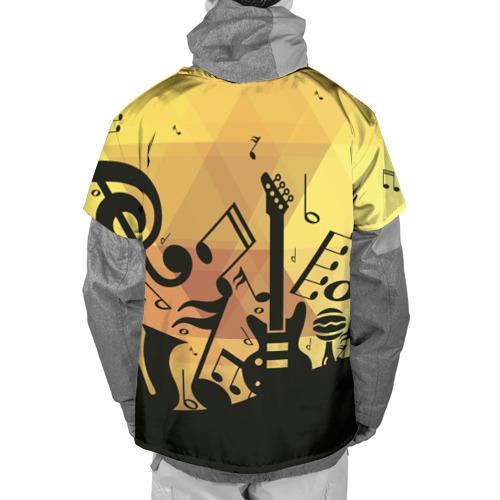 Накидка на куртку 3D  Фото 02, Любовь к музыки