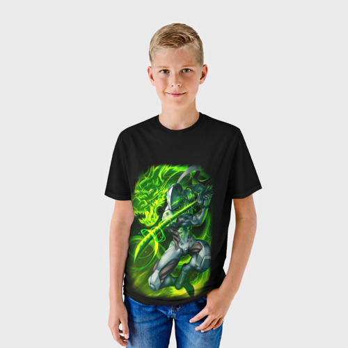 Детская футболка 3D Genji Фото 01