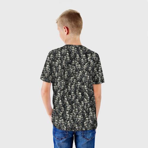 Детская футболка 3D  Фото 02, Сумасшедшие лягушки