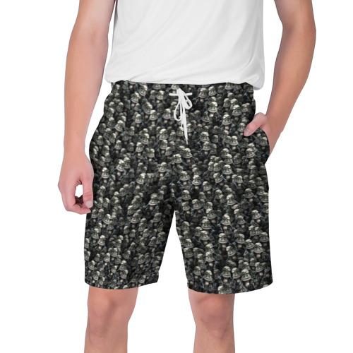 Мужские шорты 3D Сумасшедшие лягушки