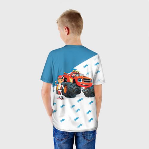 Детская футболка 3D  Фото 02, Вспыш и чудо-машинки
