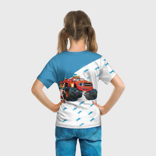 Детская футболка 3D  Фото 04, Вспыш и чудо-машинки