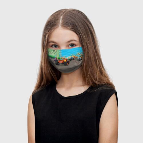 Детская маска (+5 фильтров) Вспыш и чудо-машинки Фото 01
