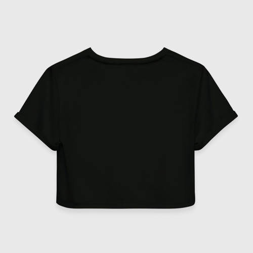 Женская футболка 3D укороченная  Фото 02, Megadeth