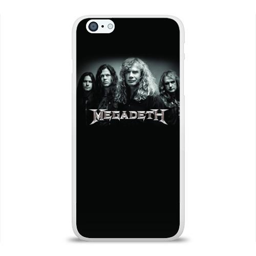 Чехол для Apple iPhone 6Plus/6SPlus силиконовый глянцевый  Фото 01, Megadeth