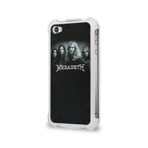 Чехол для Apple iPhone 4/4S flip  Фото 03, Megadeth