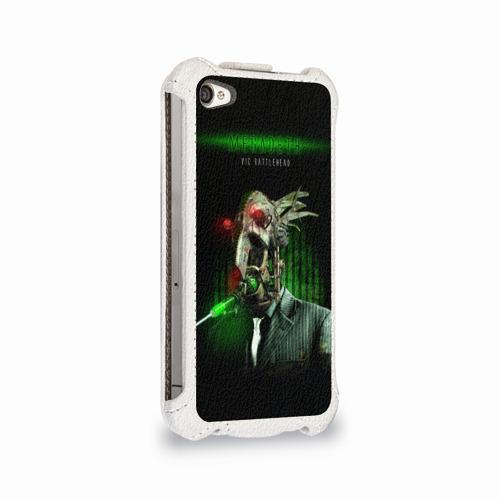 Чехол для Apple iPhone 4/4S flip  Фото 02, Megadeth