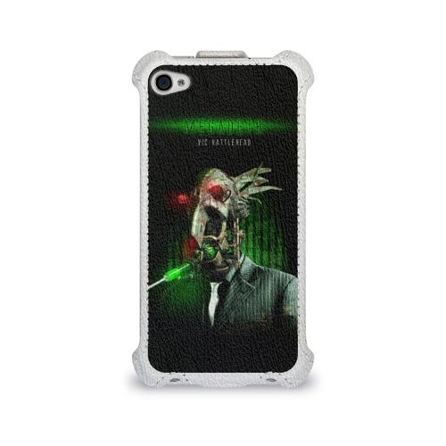 Чехол для Apple iPhone 4/4S flip  Фото 01, Megadeth