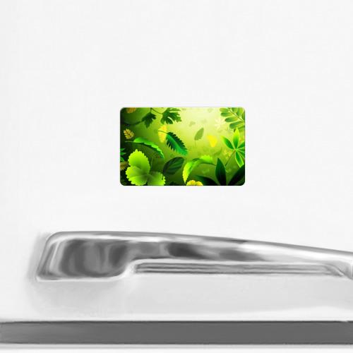 Магнит виниловый Visa  Фото 02, Зелёный мир
