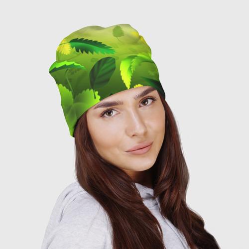 Шапка 3D  Фото 03, Зелёный мир